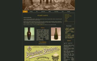 Staré pivní lahve
